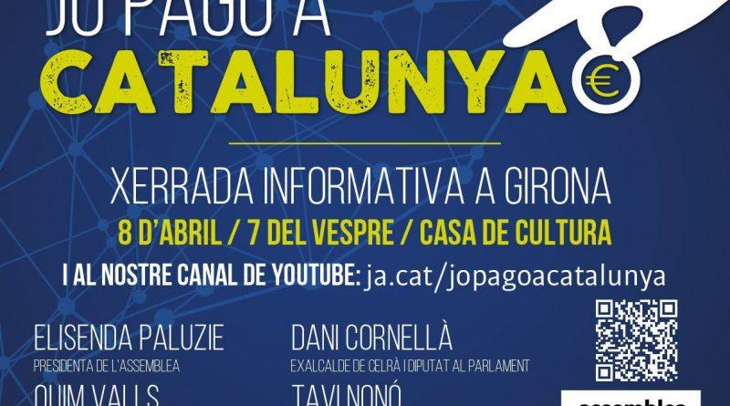 "8A – Xerrada ""Jo pago a Catalunya"""
