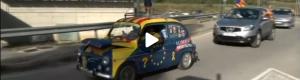 3O – La caravana de cotxes a TV Girona